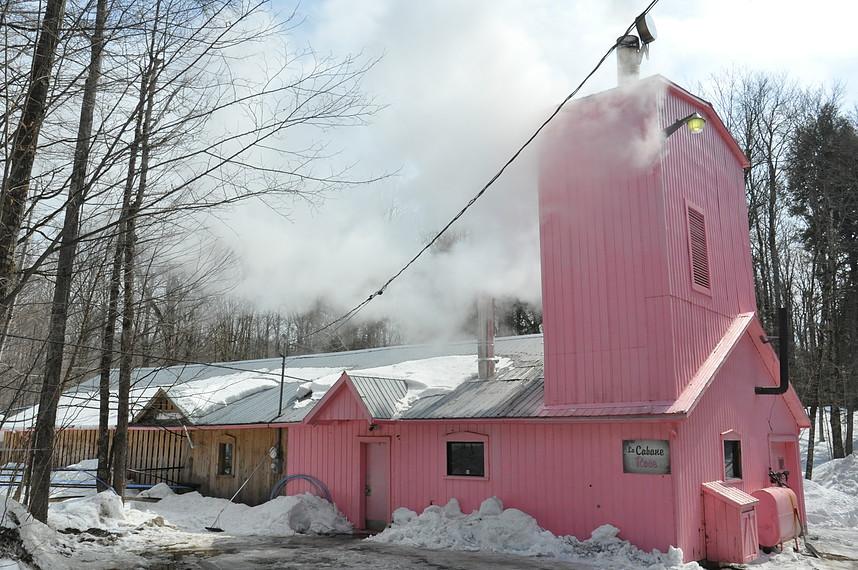 la cabane rose