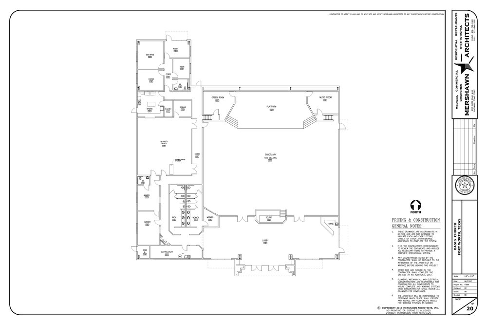 Floor plan and layout.