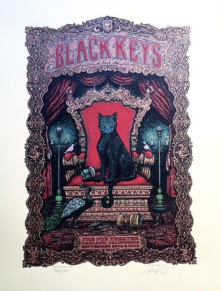 Black Keys Oakland 2010
