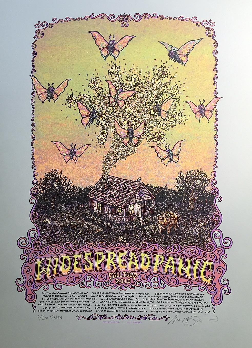 Widespread Panic Fall Tour 2010