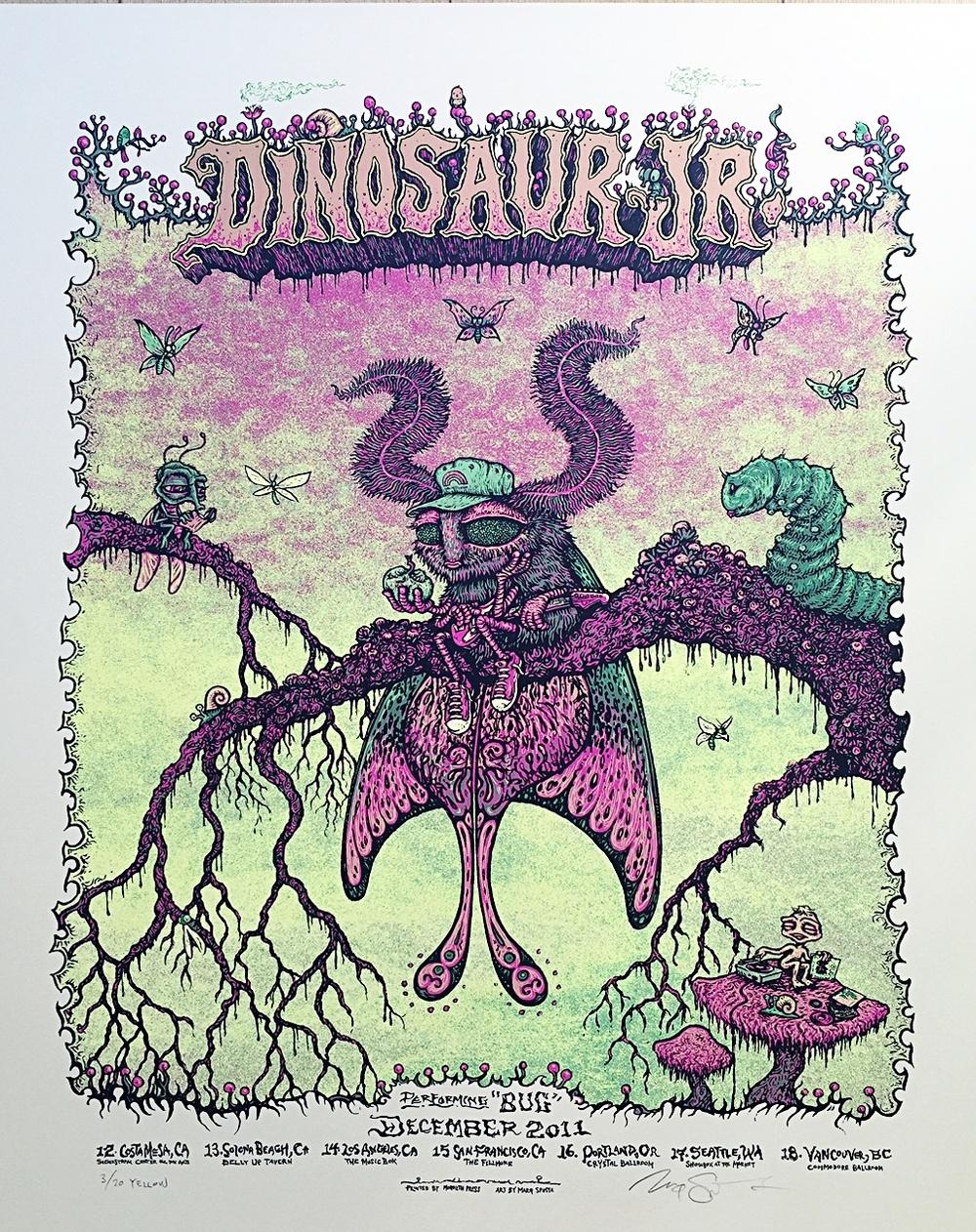 Dinosaur Jr. 2011 Tour