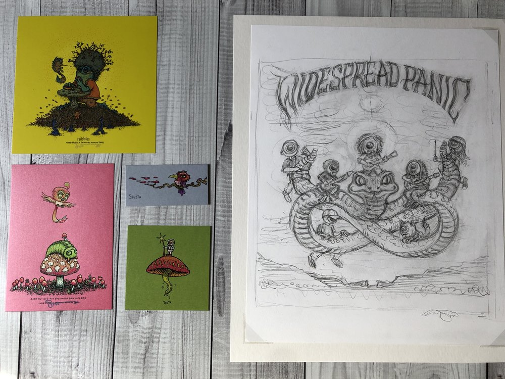 $460 Original WP Drawing + Mini Pack