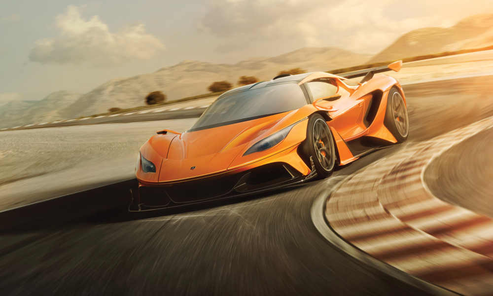 Apollo - Complete rebrand for the hypercar marque Apollo