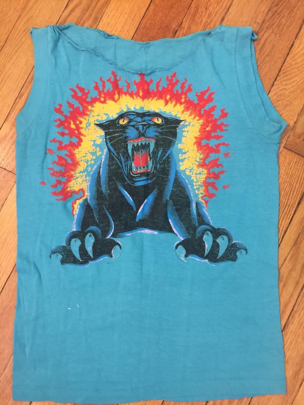 Rae's signature shirt from RISD