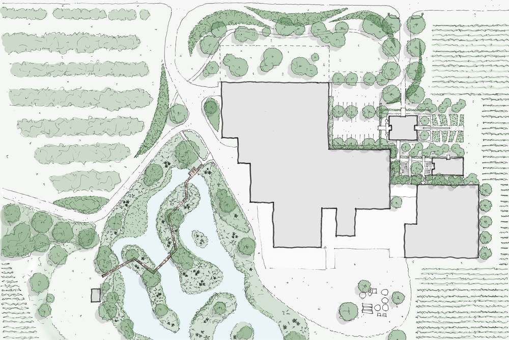 Grove Mill Landscape Architecture Design