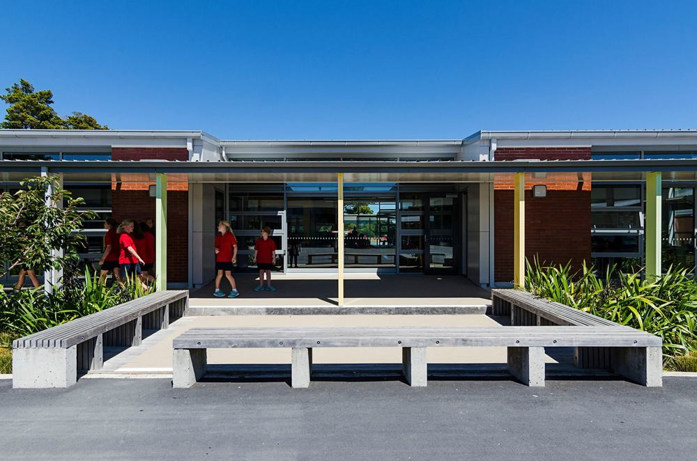 Fergusson Intermediate School Landscape
