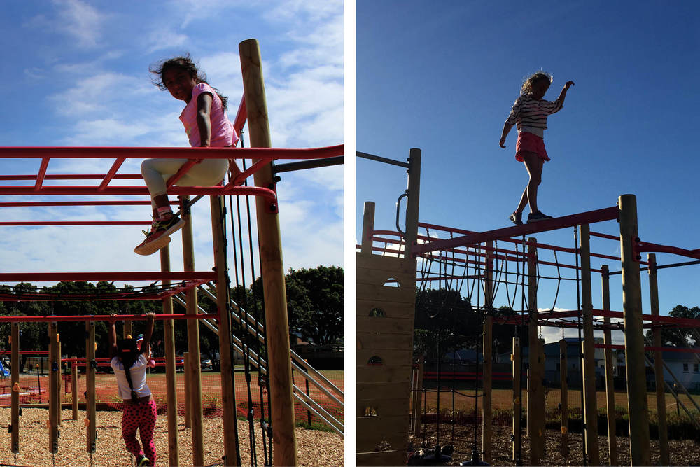 Kahurangi School Playground Design