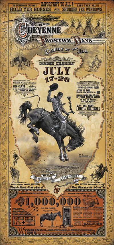 Cheyenne Frontier Days Rodeo Grizzly Creek Gallery