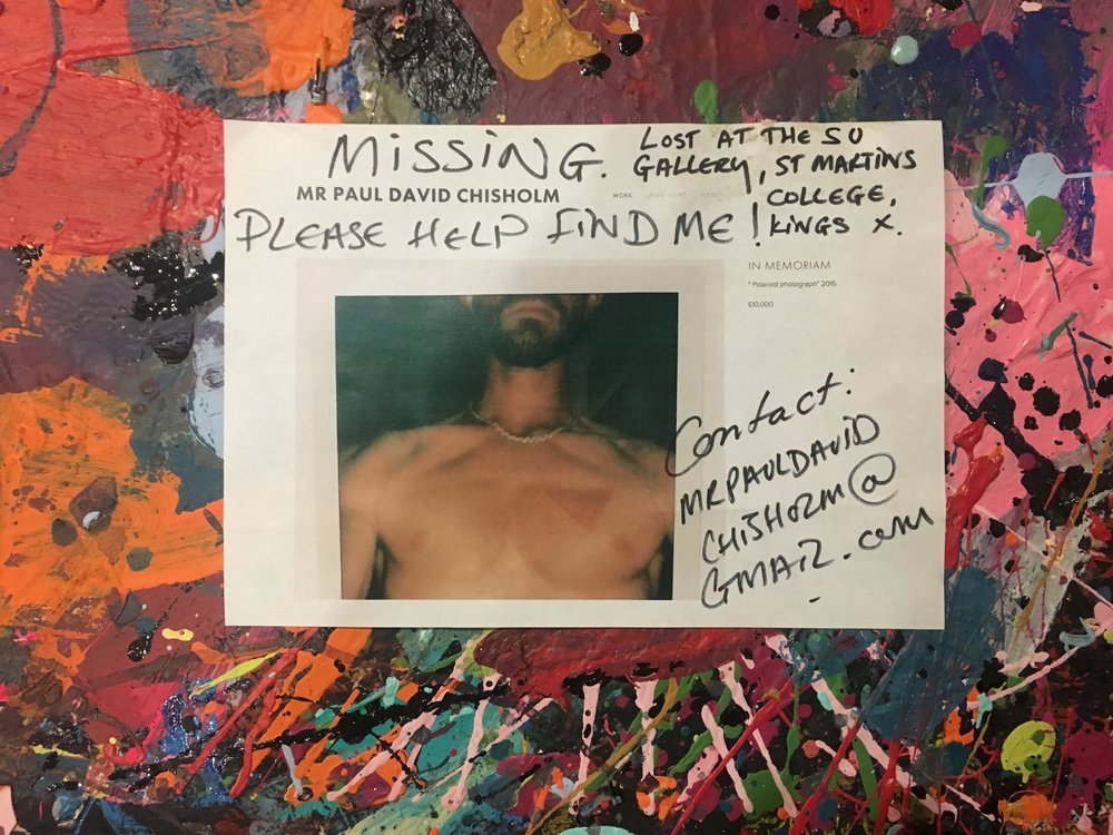 HELP MISSING ART WORK !