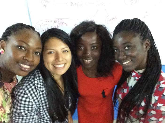 Ghanaian and Nigerian founders with me in MEST in Accra, Ghana – miss these ladies!