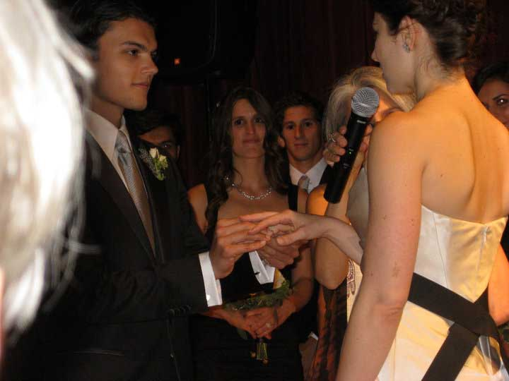 September 25, 2011. Wedding in NYC.