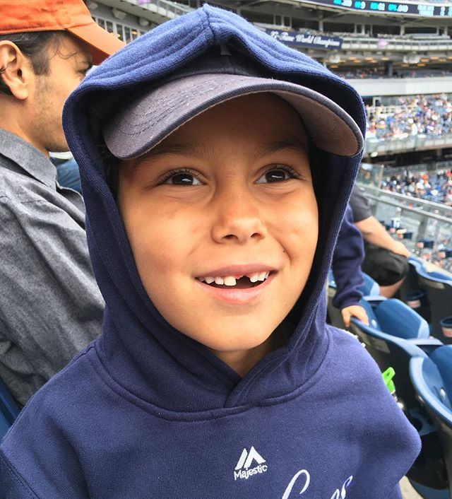 Go Yankees! Today was our first family baseball game. It was sooooo much fun! Can't wait to see what happens post-season. #parallelcoasts, #bronx, #weekendoff, #goyankees, #missingteeth, #momoftwoboys, #mamaoftwoboys, #hereinbrooklyn, #nyclife