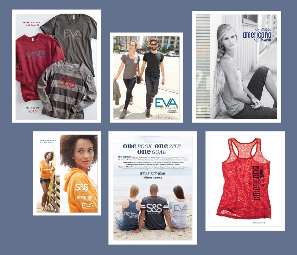 Su0026S Buys Two Competitors U2013 Americana Sportswear And Eva Sportswear. And For  TK, That Means More Catalogs To Produce (and A Couple More Logos To Design).  Americana Sportswear