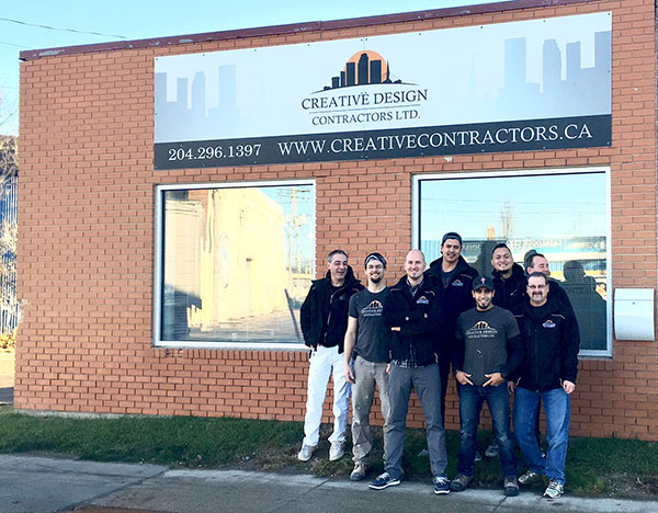 Creative Design Contractors 255 McPhillips Street - HOURS: Monday to Friday - 9:00am to 4:00pm
