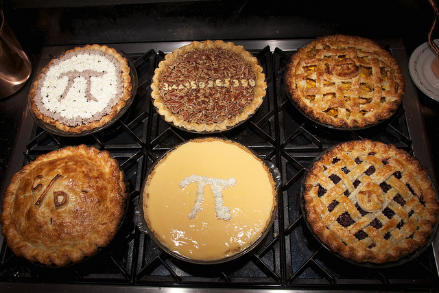 Pi Day Where Geeks and Foodies come together