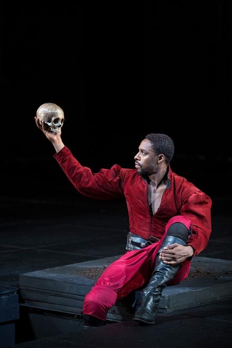 Granthan Coleman Playing Hamlet 2017
