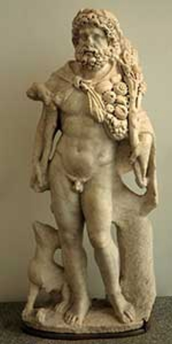Silvanus aka Mars god of Agriculture Fertilty and Cattle