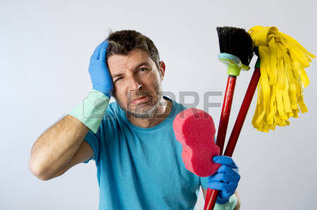 He is here to clean up