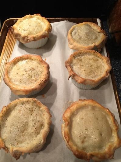 Photo of Home Chef Extraordinaire Marsha Barnhat Clayton's Pot Pie