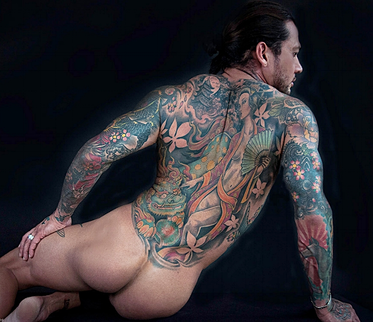 Anthony Timiraos Photo the Tattoo Nude