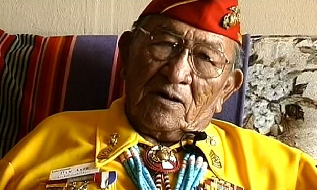 Native American Service Man