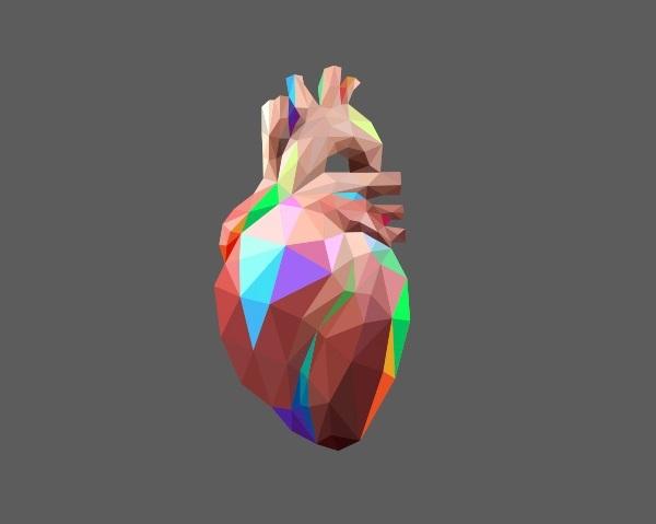 Heart Graphic by Brento Bitenocourt