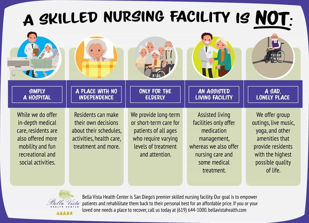 infographic About Skilled Nursing Facilities