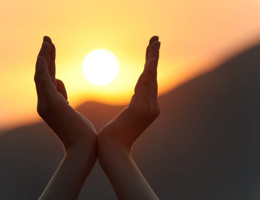 Somatic EMDR: Hands and Sun