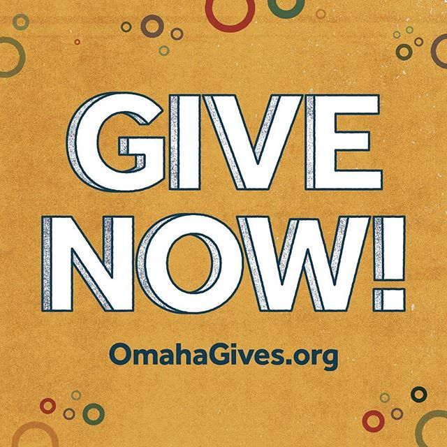 Omaha Gives! is underway! Donations are accepted until midnight tonight. Make your donation at: https://www.omahagives.org/index.php?section=organizations&action=overview&fwID=1181