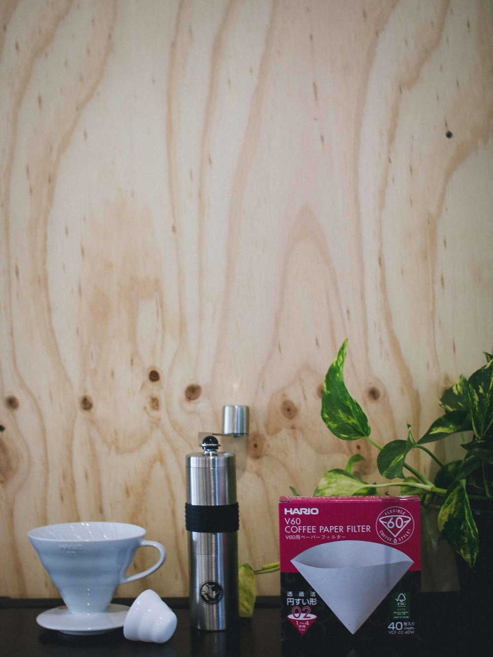 V60 Starter Pack. Available online now.