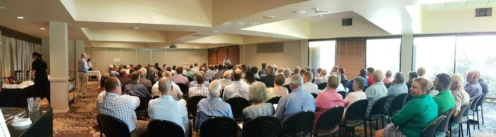 Farmers at the Toowoomba ACCC Dairy Inquiry