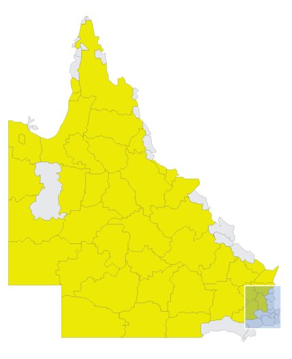 Regions of Queensland drought declared