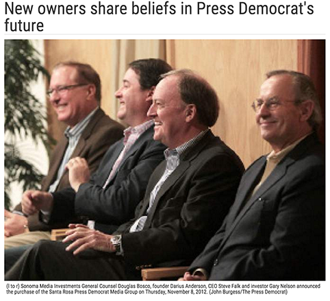 New owners share beliefs in Press Democrat's future