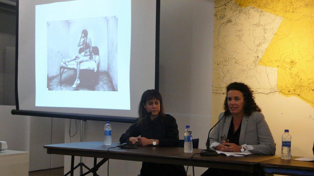 Ada Trillo, Shonna Trinch_The Un-Heroic Act_Artist Talk_Sept. 26 2018. Photo Jerzy Warman