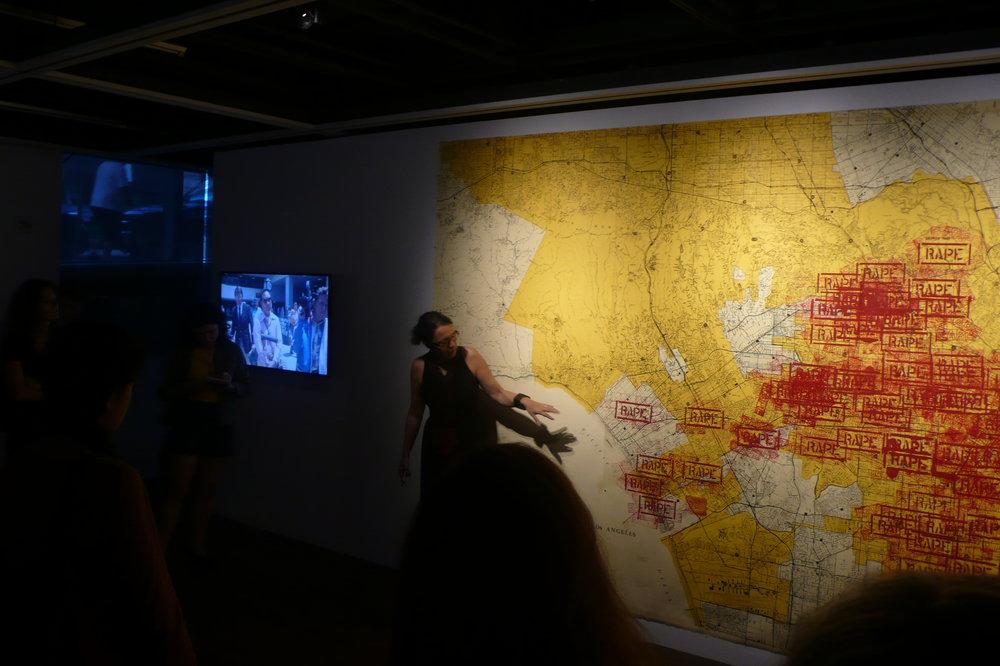 Monika Fabijanska_The Un-Heroic Act_Gallery Tour_Oct. 3 2018. Photo Jerzy Warman