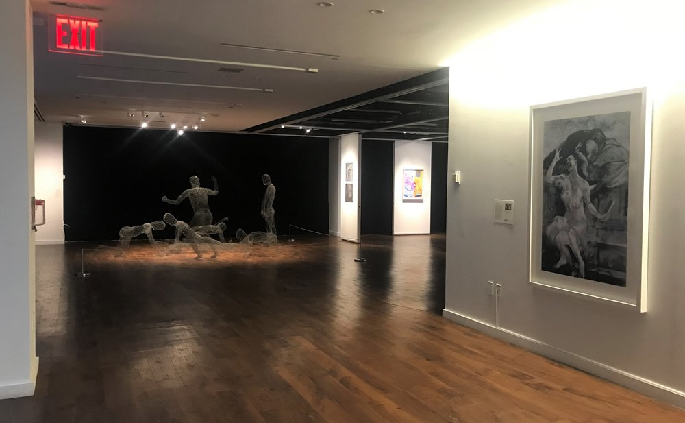 7_Works by Kathleen Gilje and Carolee Thea, installation view, The Un-Heroic Act, Shiva Gallery JJC. Photo Monika Fabijanska