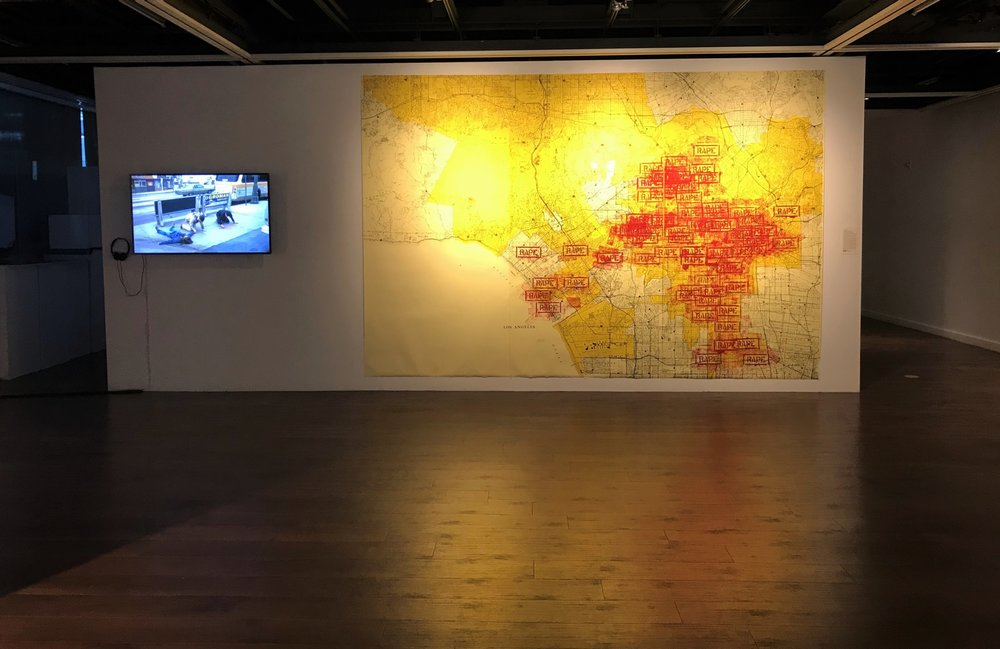 15_installation view, The Un-Heroic Act, Shiva Gallery JJC. Photo Monika Fabijanska