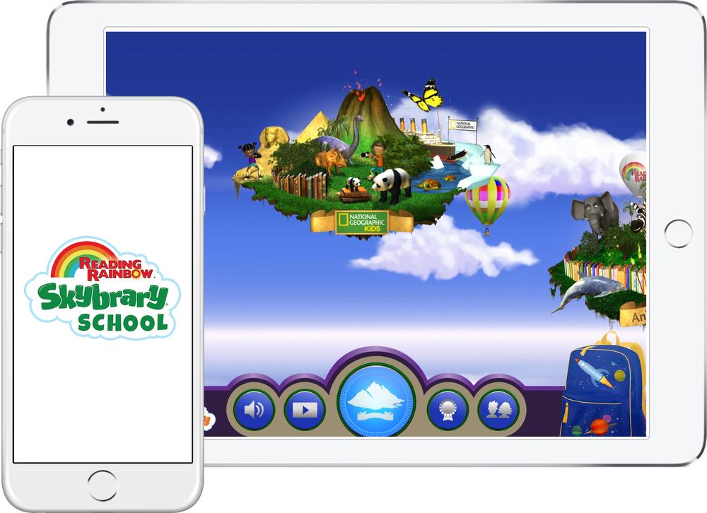 Reading Rainbow iPad/iPhone