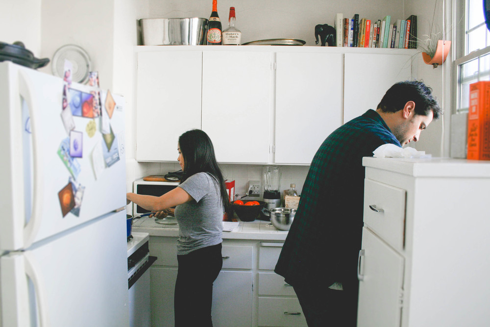 coupleinkitchen