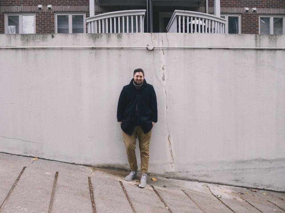 Matt, striking a pose