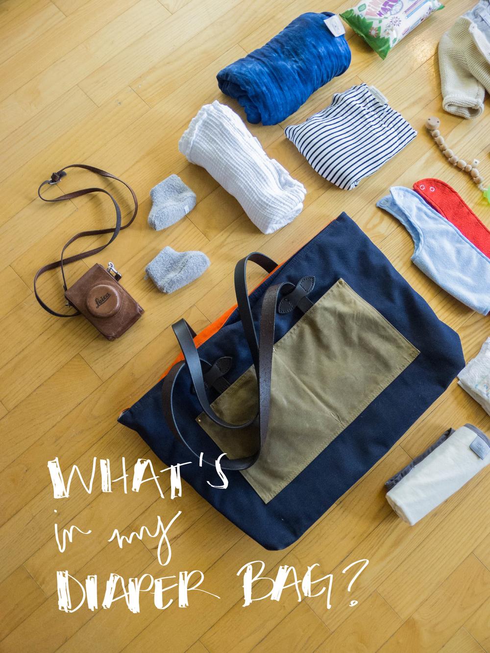 What's in my Diaper Bag?