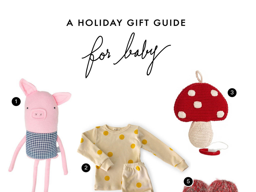 A Holiday Gift Guide // For Baby