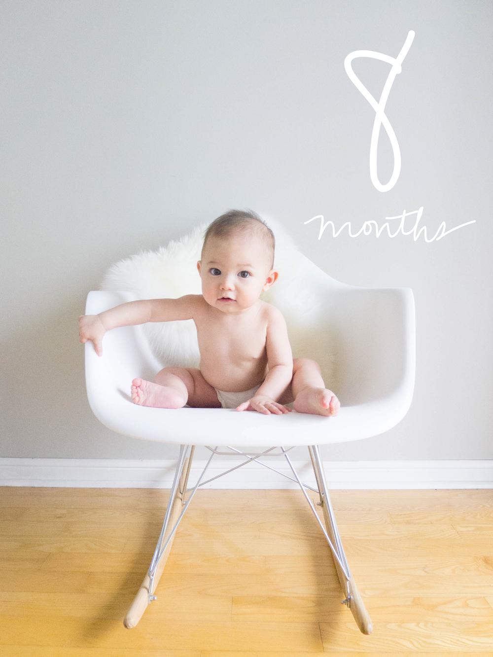 Margot at Eight Months