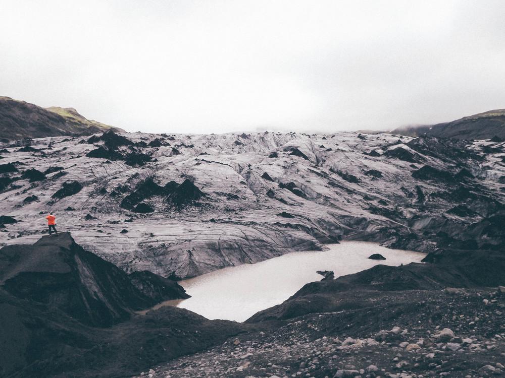 Sólheimajökull Glacier | Iceland