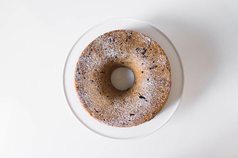 Date + Walnut Cake