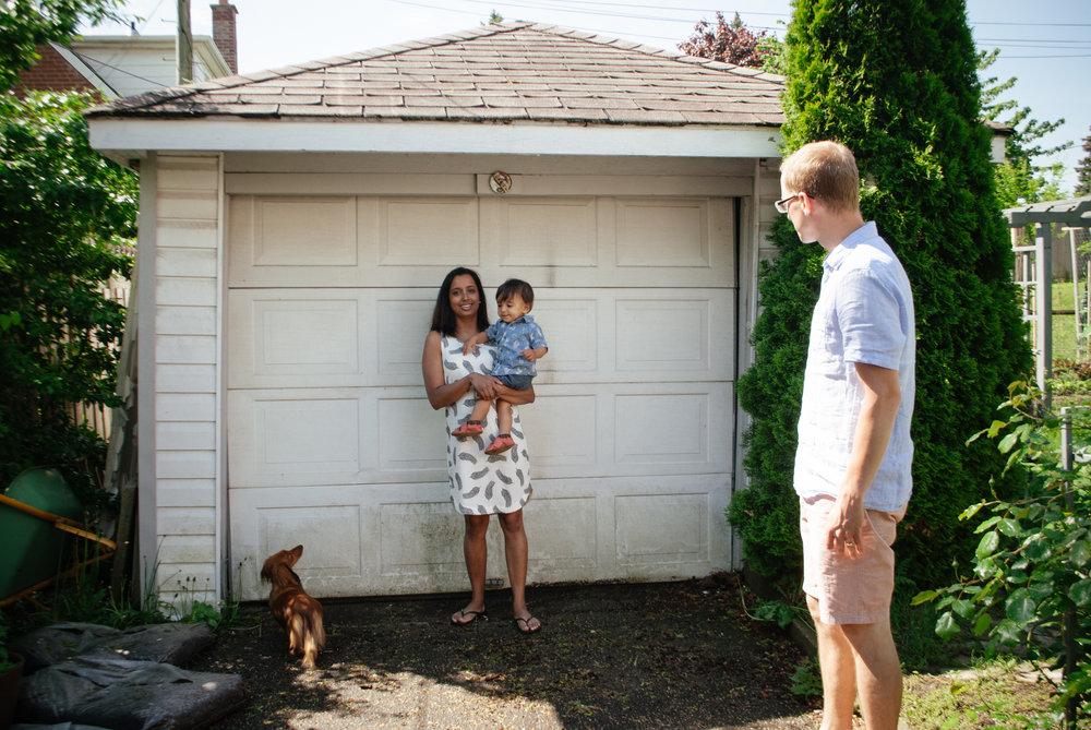 home family shoot