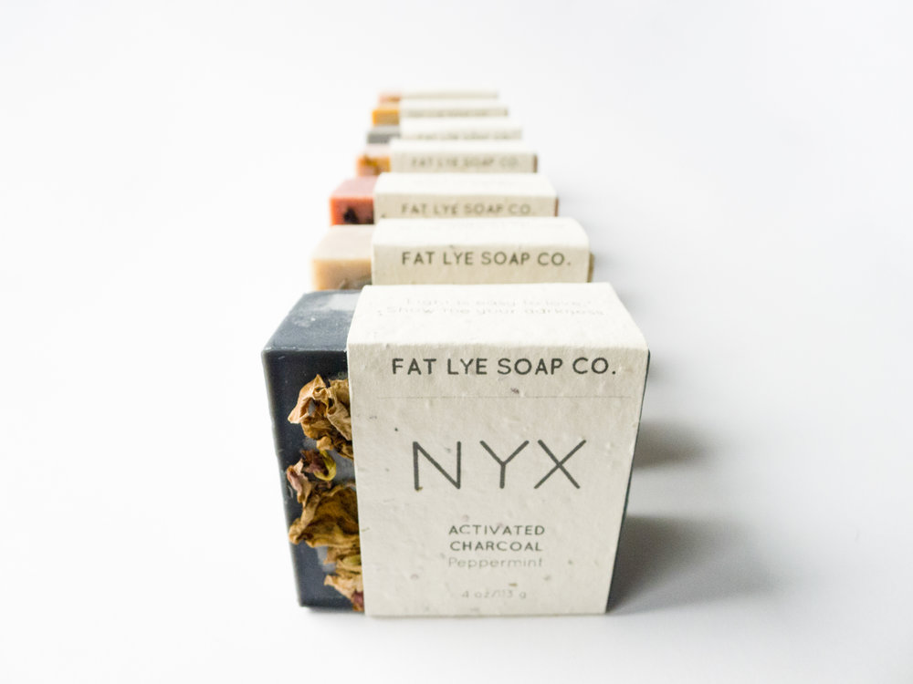 fat lye soap