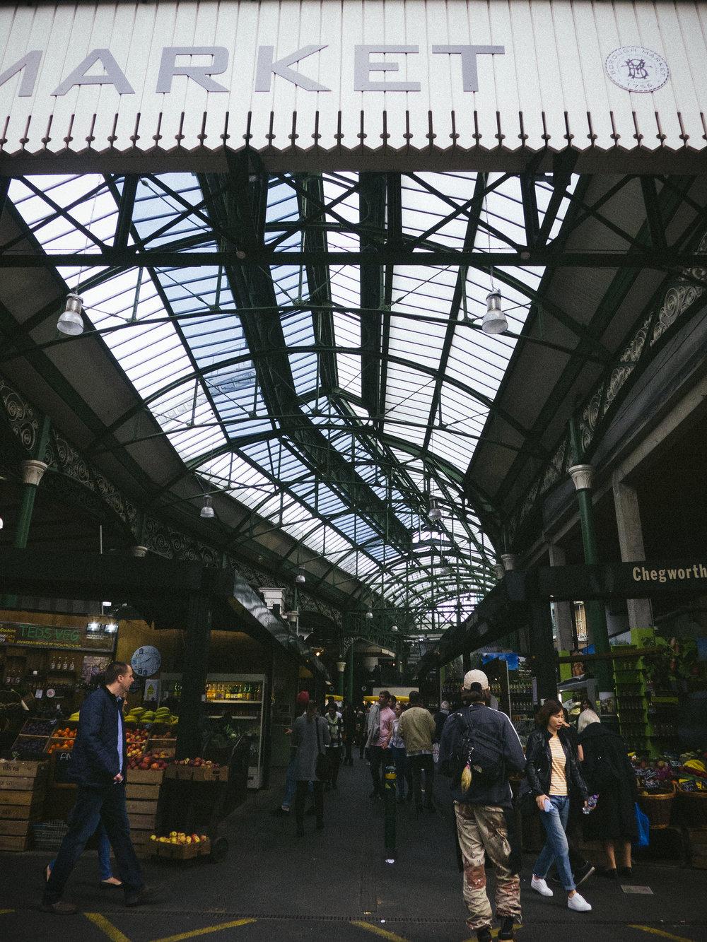 london - borough market