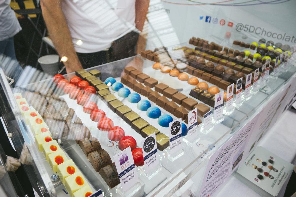 london chocolate show