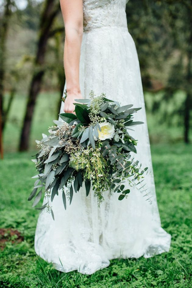 From Bridalmusings.com,  article: Foliage is the New Flower